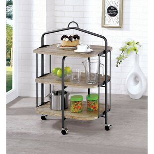 Royster 3 Shelf Bar Cart Wonderful
