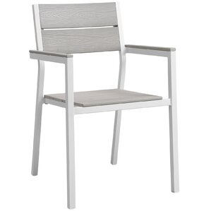 Maine dining outdoor patio armchair by Modway