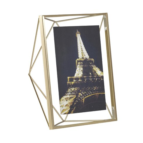 Umbra Prisma Brass Picture Frame | Wayfair