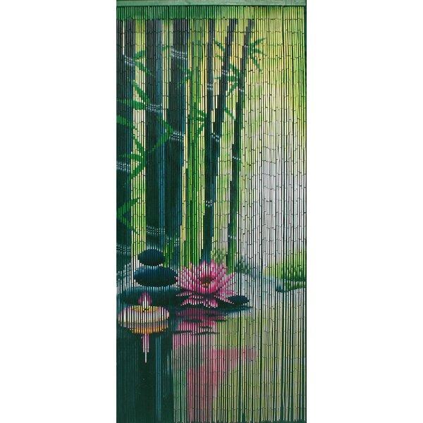 Bamboo54 Serenity Zen Bamboo Beaded Single Curtain Panel & Reviews   Wayfair