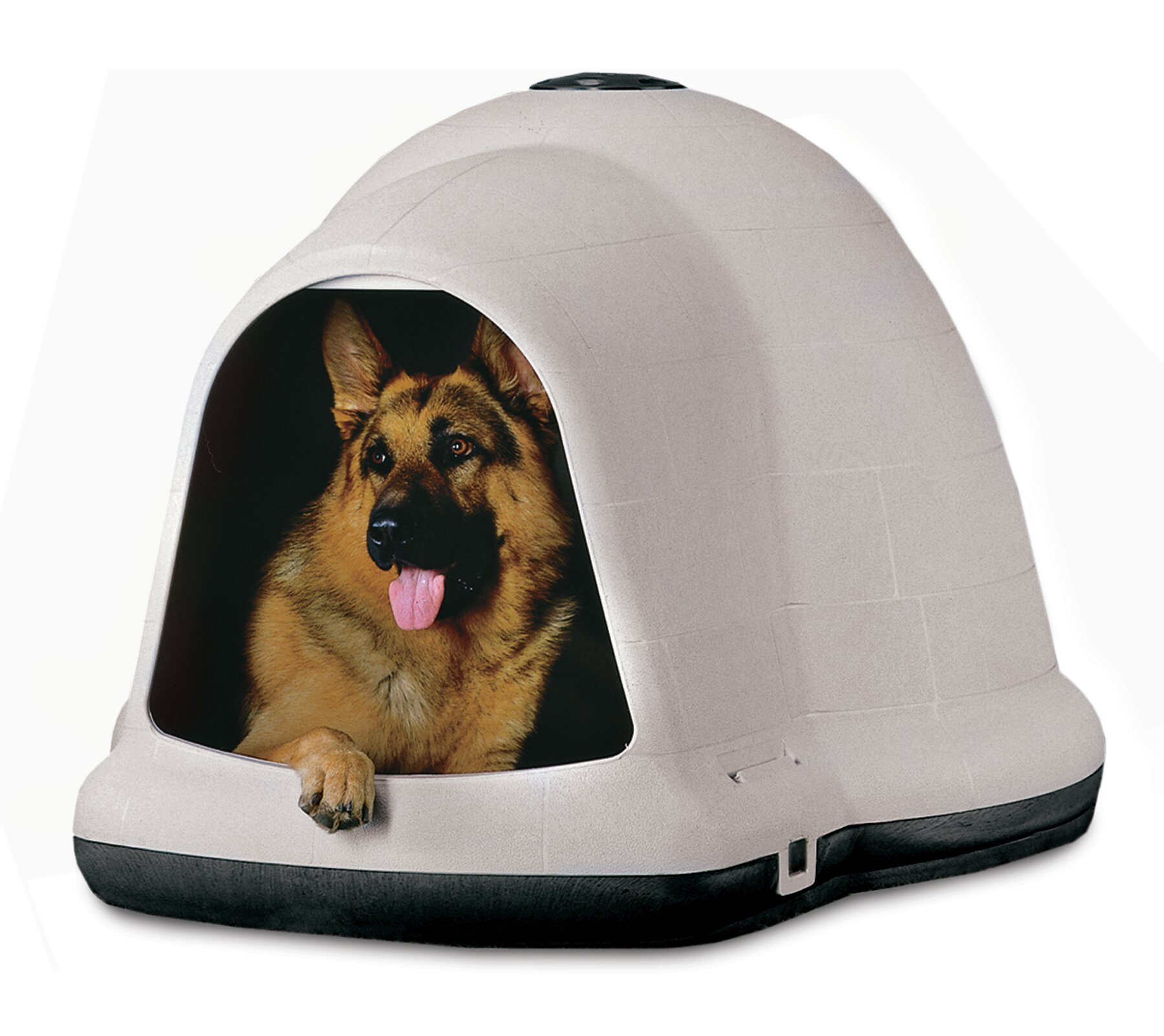sc 1 st  Wayfair & Aspen Pet Dogloo II Dog House | Wayfair