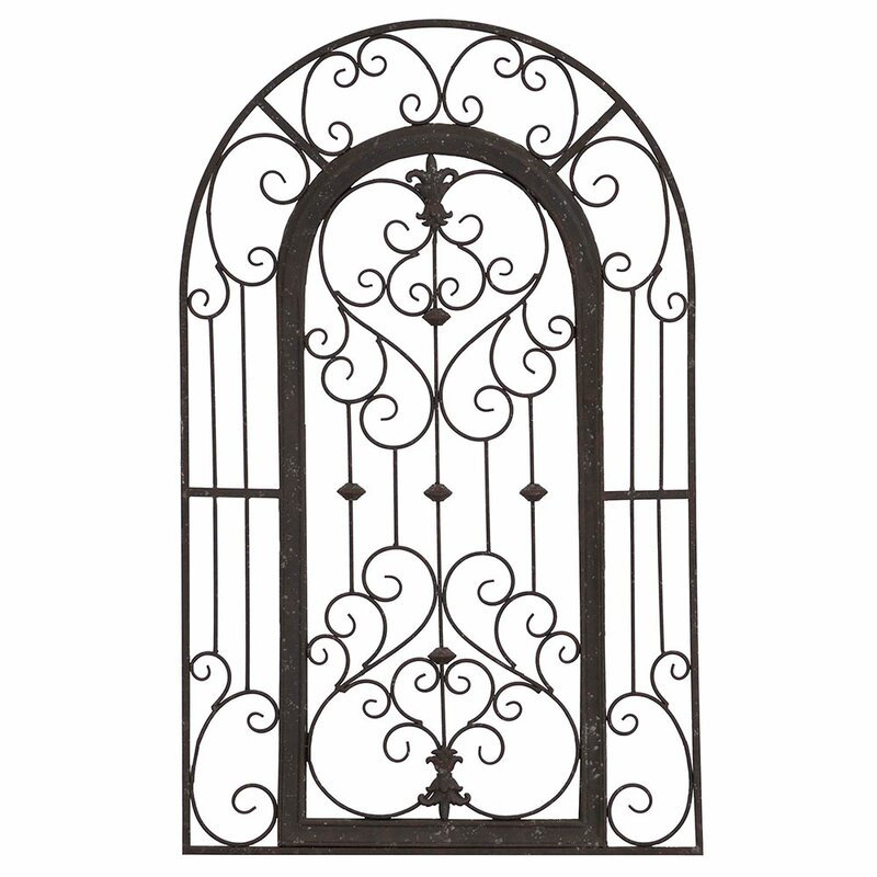 Ordinaire ParagonSecret Garden Gate Wall Décor