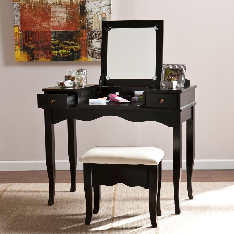 Wildon Home ® Brigette Vanity and Bench Set & Reviews | Wayfair