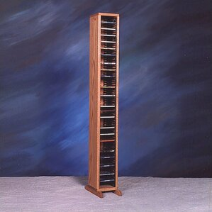 100 Series 80 CD Multimedia Storage Rack by Wood Shed