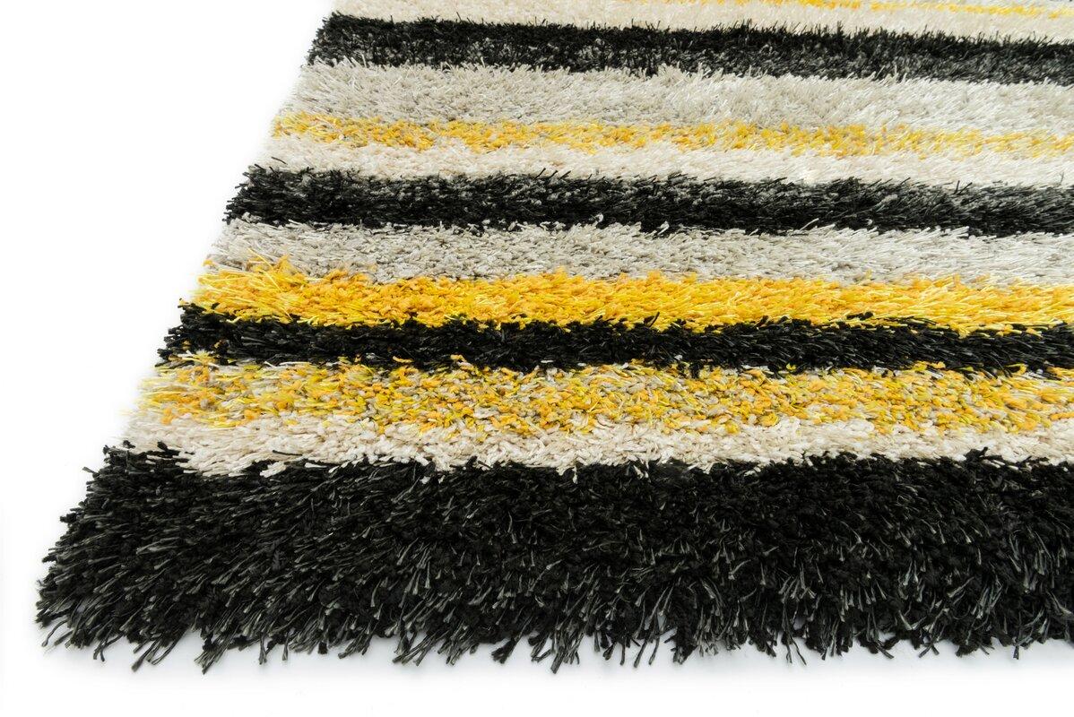 Loloi Rugs Cosma Black Yellow Area Rug Amp Reviews Wayfair Ca