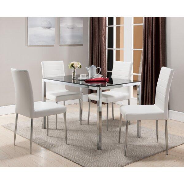 Wade Logan Allston Rectangle Dining Table U0026 Reviews   Wayfair