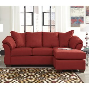 Chaise Sofa Red Sectionals You Ll Love Wayfair