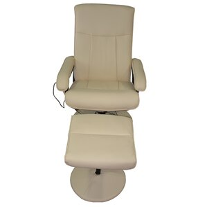 Nice MCombo Reclining Massage Chair With Ottoman