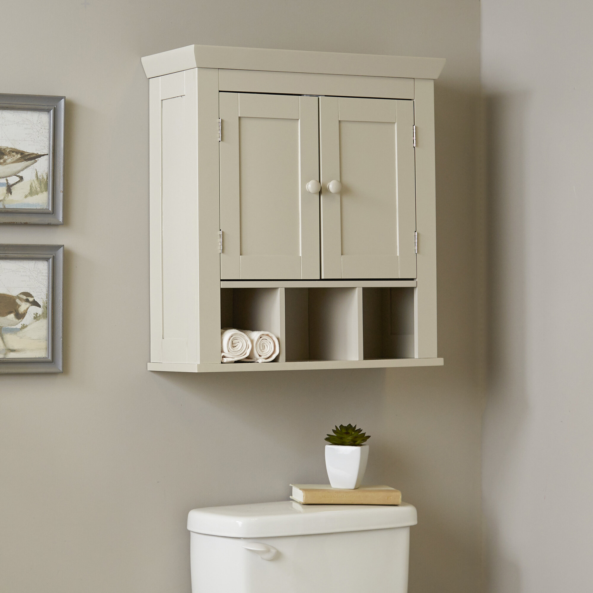Three Posts Chorley 22 4 W X 24 H Wall Mounted Cabinet Reviews Wayfair