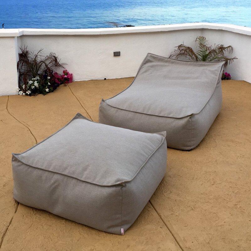 Core Covers Sunbrella Ottoman