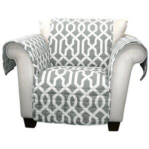 Caledonia Armchair SlipcoverChair Slipcovers You ll Love   Wayfair. Gray Armchair Slipcover. Home Design Ideas