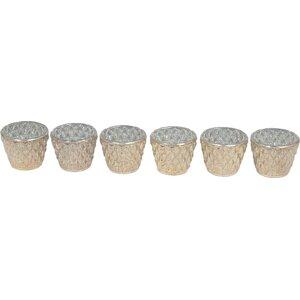 6 Pieces Glass Votive (Set of 6)