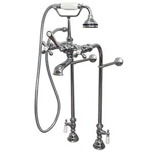 Clawfoot Freestanding Faucet Tub with Hand Held Shower