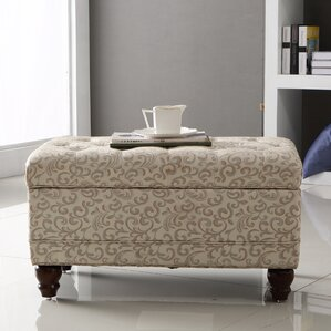 Classic Tufted Storage Ott..