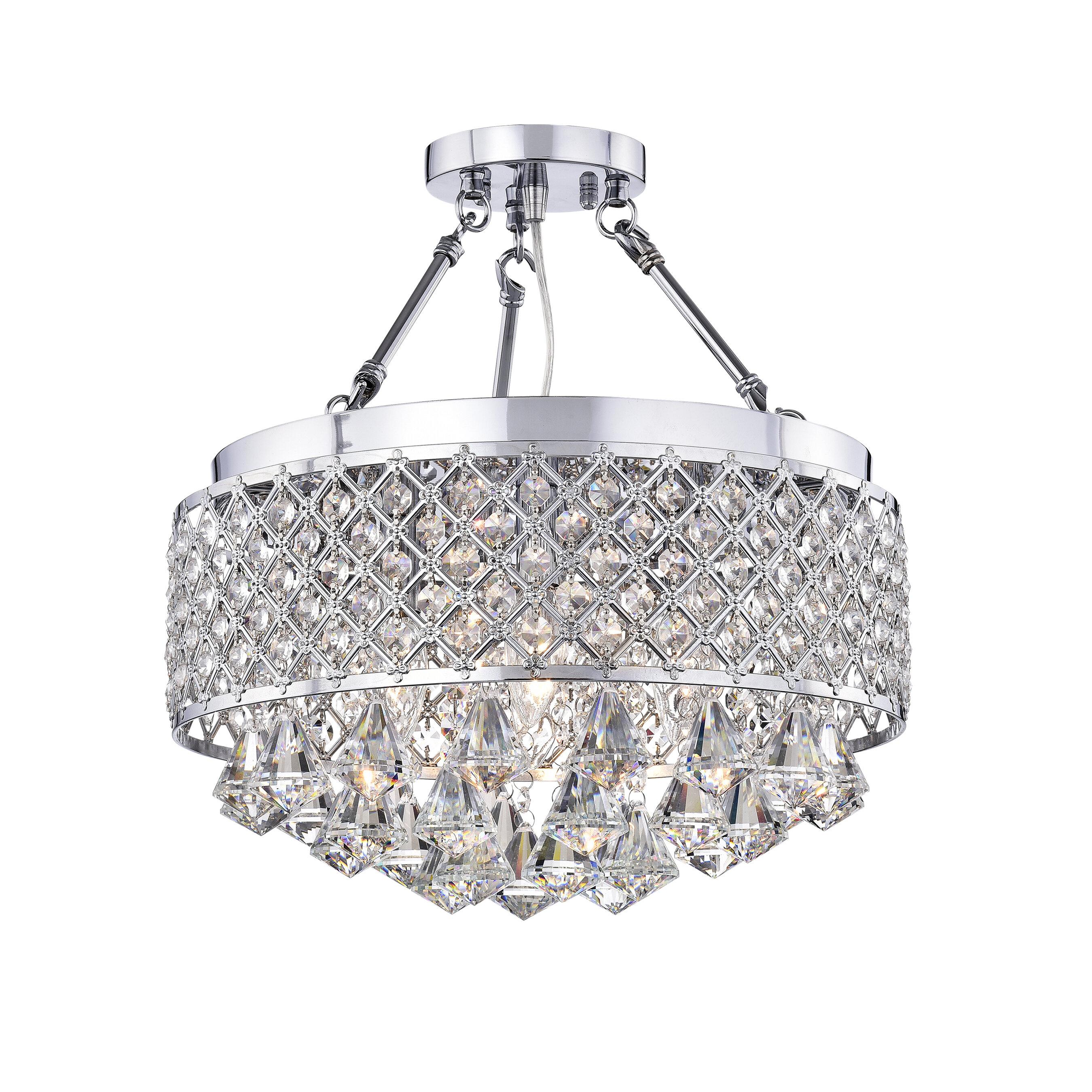 d30386af506 Darcy 4-Light LED Semi Flush Mount