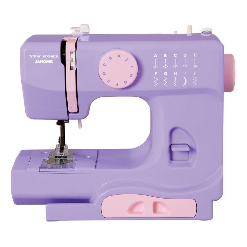 Janome Janome Portable EasytoUse 40Pound Mechanical Sewing Machine Beauteous Portable Sewing Machine