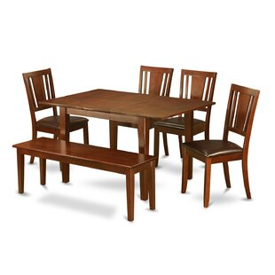 Picasso 6 Piece Extendable Dining Set