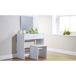 Ivory Dressing Table Set | Wayfair.co.uk