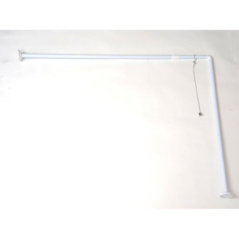 Evideco 71 L Shaped Shower Curtain Enclosure Reviews