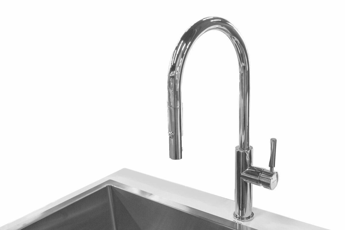Valley Acrylic Ltd. Purity Single Handle Pull Down Kitchen Faucet ...