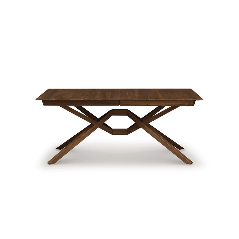 Copeland Furniture Exeter Single Leaf Extendable Dining Table | Wayfair