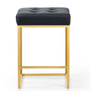 Leeper Leather 26 Bar Stool