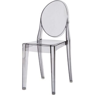 Kartell Ghost Victoria Stacking Patio Dining Chair (Set of 2)