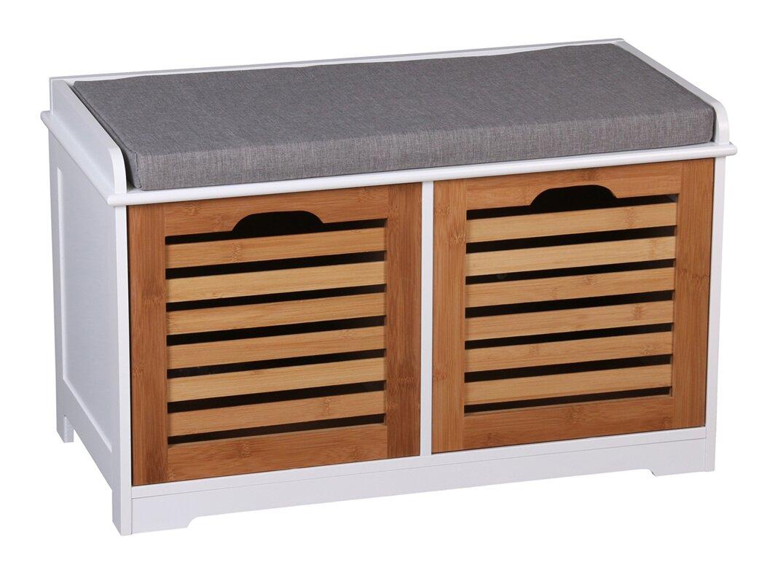Kendal Wooden Storage Hallway Bench
