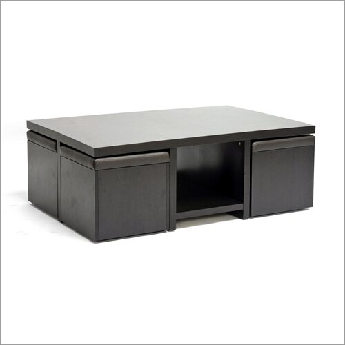 Calla 5 Piece Coffee Table Set & Latitude Run Calla 5 Piece Coffee Table Set u0026 Reviews | Wayfair