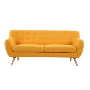 Very best Mustard Yellow Couch | Wayfair WV14