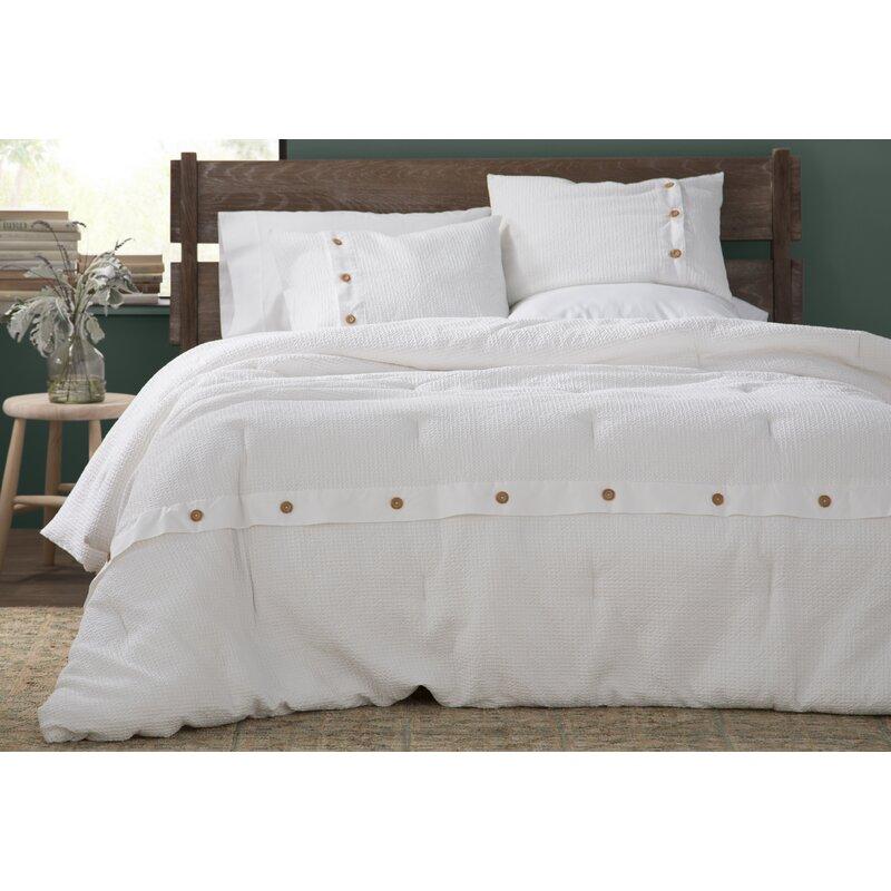 4acb533de78383 Eider & Ivory Carmella 3 Piece 100% Cotton Duvet Cover Set & Reviews ...