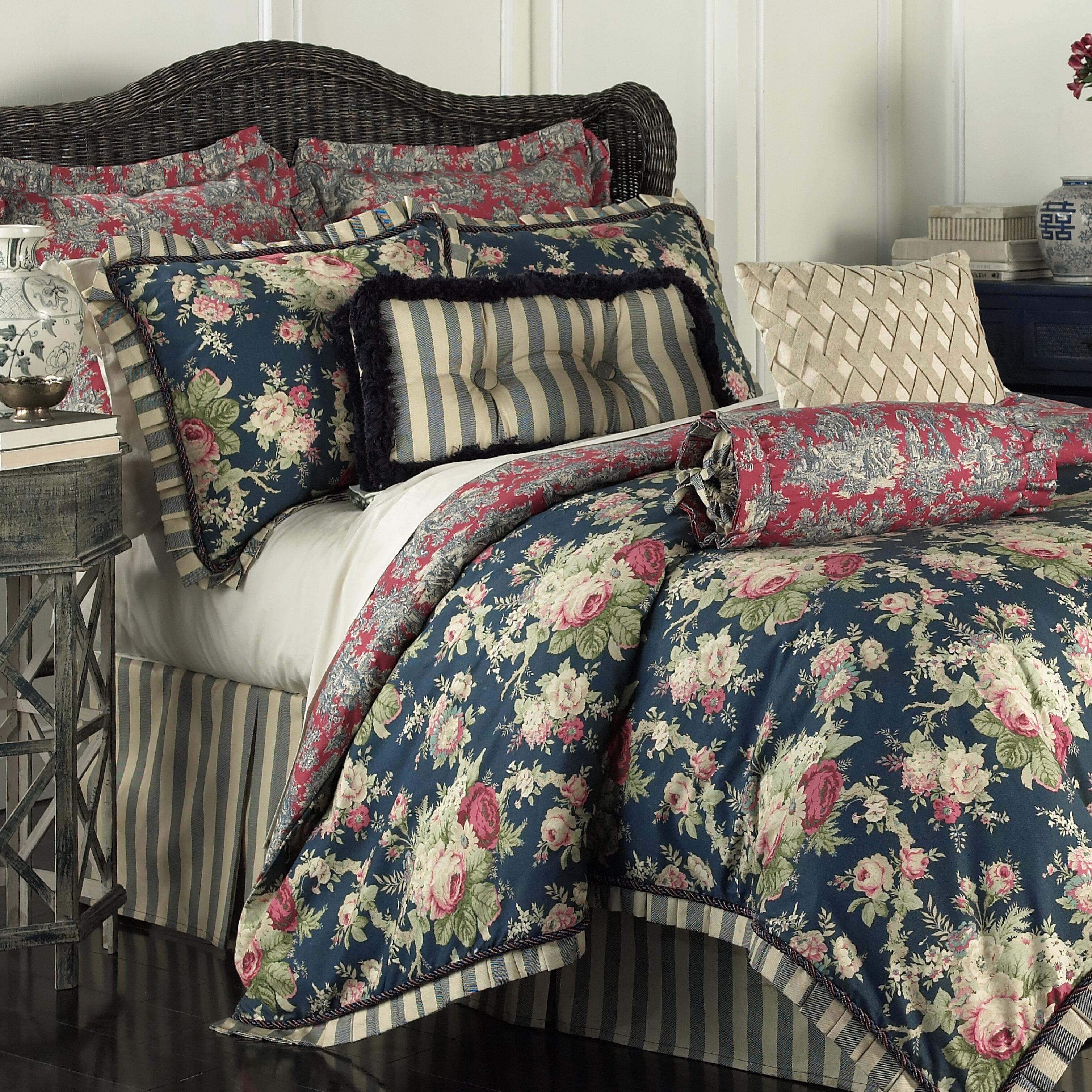 charming Waverly Sanctuary Rose Part - 6: Waverly Sanctuary Rose 4 Piece Reversible Bedding Set u0026 Reviews | Wayfair