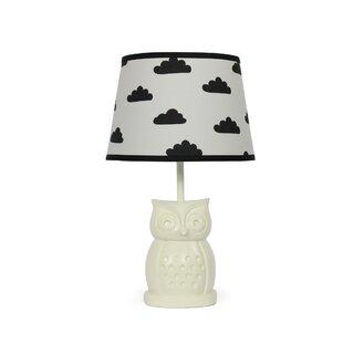 Owl table lamps wayfair owl cloud 165 table lamp mozeypictures Choice Image