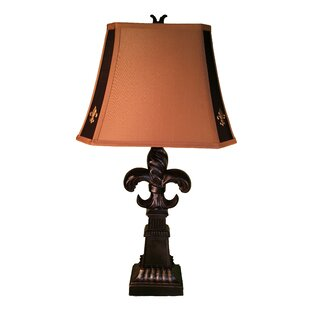Fleur de lis lamp shade light shop light ideas fleur de lis lamp wayfair diy lampshade mozeypictures Image collections