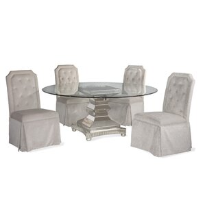 Crowthorne 5 Piece Casual Dining Set by H..