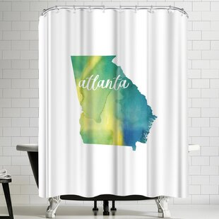 Paperfinch GA Atlanta Shower Curtain