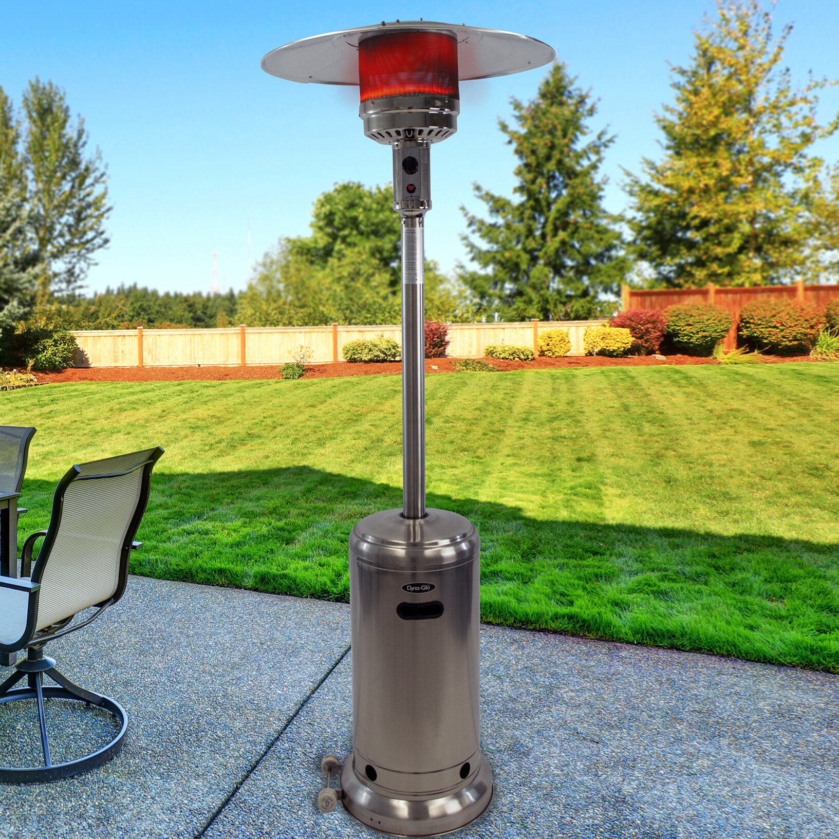 Exceptional Dyna Glo Dyna Glo 41,000 BTU Propane Patio Heater | Wayfair