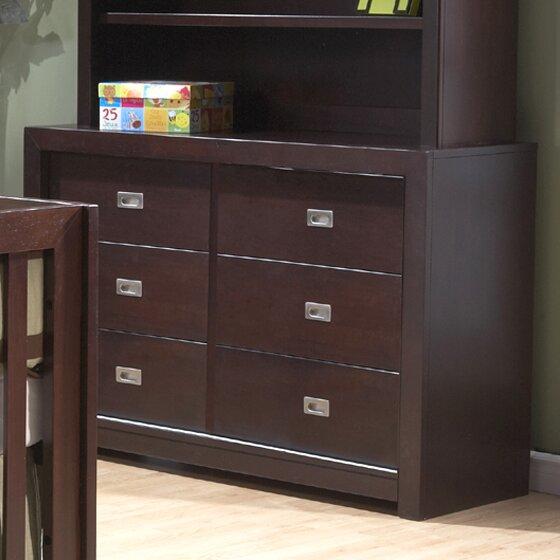Novara 6 Drawer Double Dresser