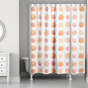 Kalel Watercolor Fall Shower Curtain