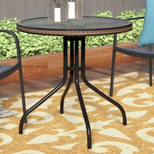 Best Deals Meadowland Glass Dining Table Charlton Home