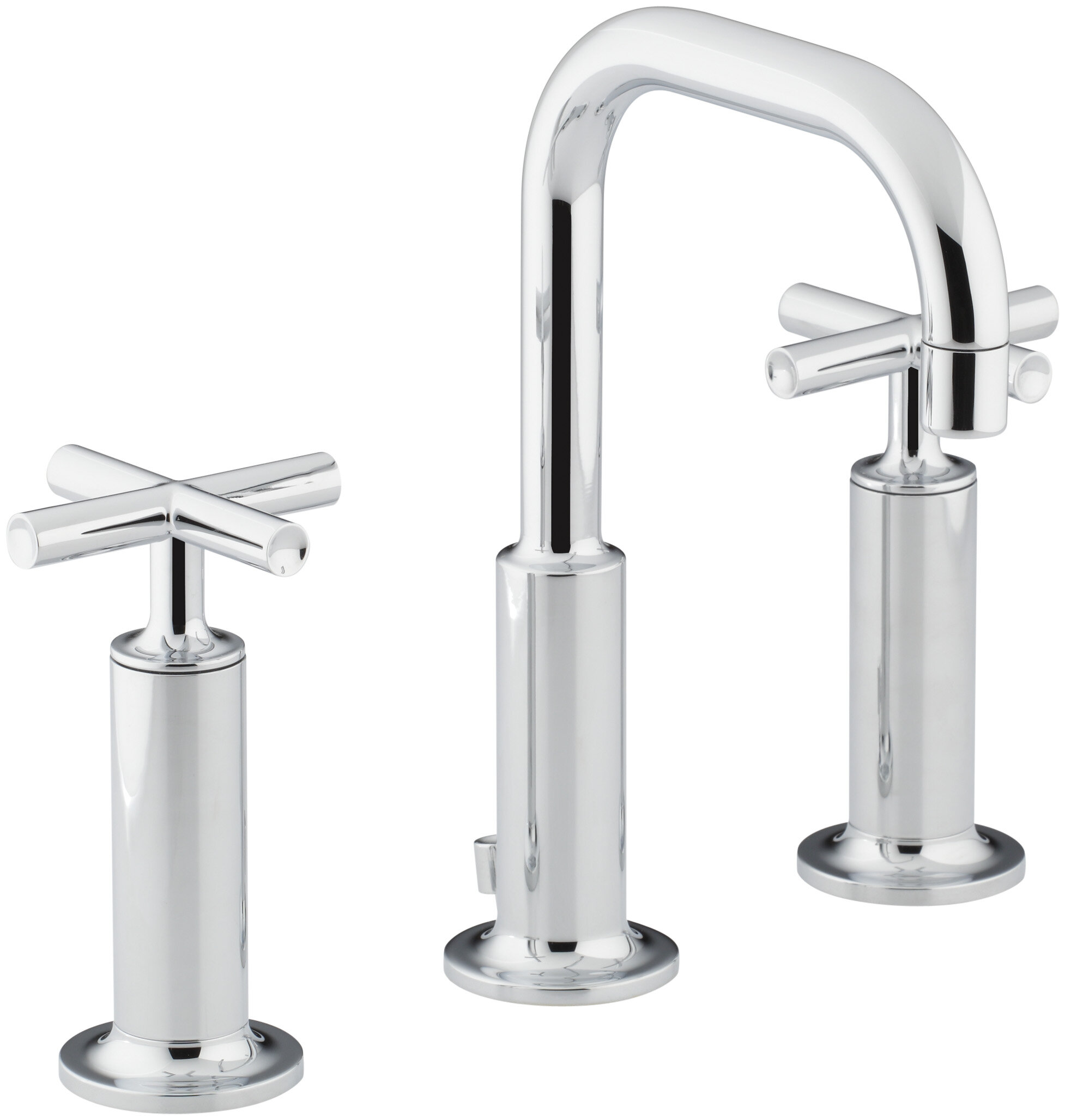 K-14407-3-BN,BV,CP Kohler Purist Widespread Bathroom Sink Faucet ...