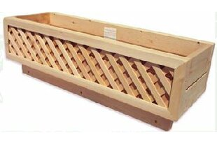 Cedar Deck Box Rail Planter