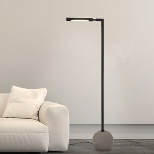 Task floor lamps youll love wayfair drollette 60 led task floor lamp mozeypictures Image collections