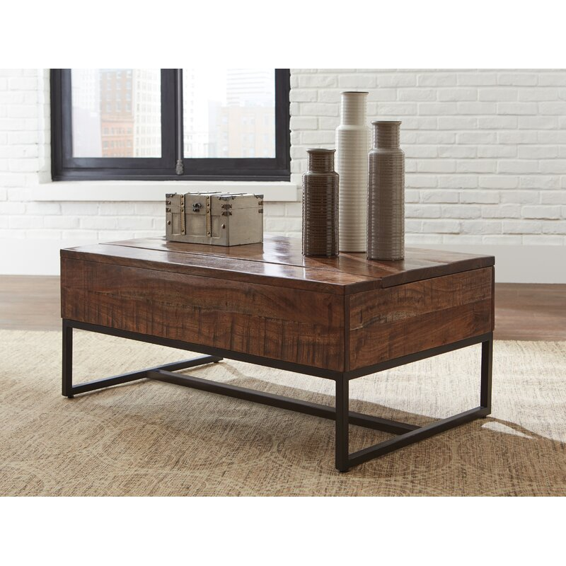 Glass Lift Top Coffee Tables You Ll Love In 2019 Wayfair