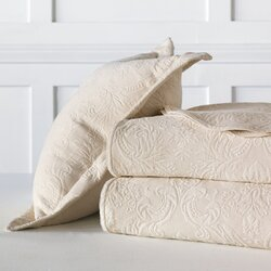 sandrine matelasse cotton coverlet - Matelasse Bedding