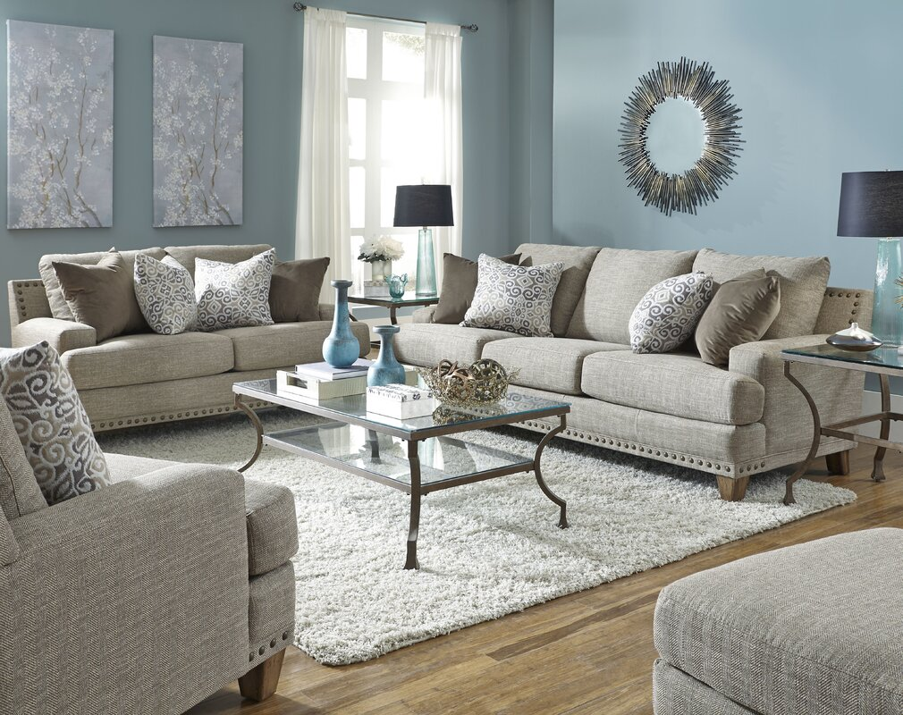Three Posts Burke Configurable Living Room Set Reviews