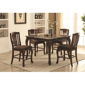Dominey 5 Piece Counter Height Dining Set..