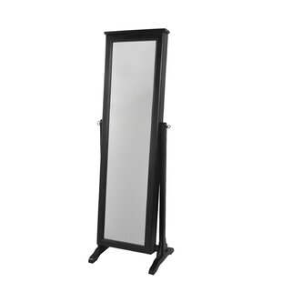 Charming Dallastown Jewelry Armoire With Mirror