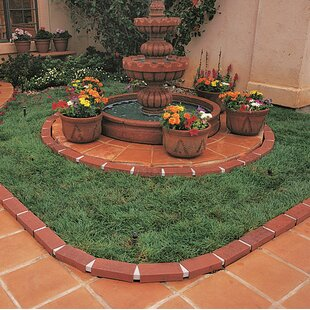 Letu0027s Edge It! Decorative Plastic Brick Edging Without Solar Lights