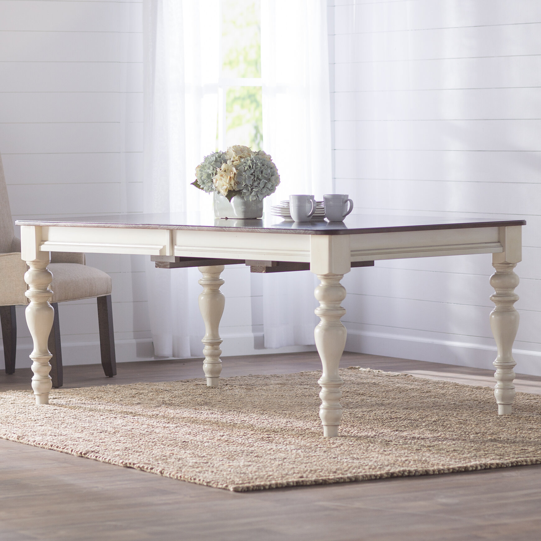 birch lane™ dalton extending dining table & reviews | birch lane Breakfast Table Design